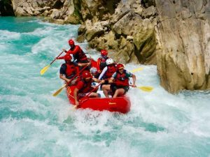 Rafting en San Luis Potosí.
