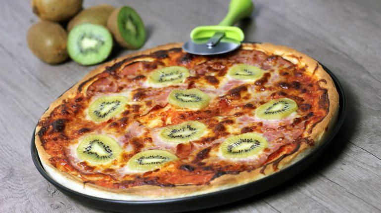 Combinaciones de pizza con fruta