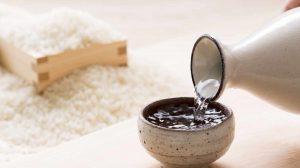 Arroz para sake y sake