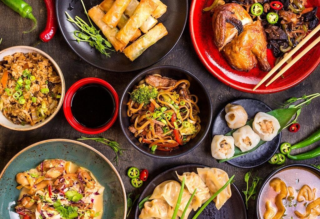 Top de comida oriental