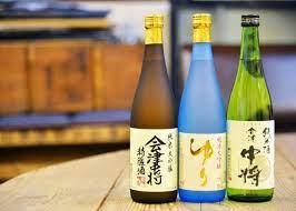 botellas de sake de Fukushima