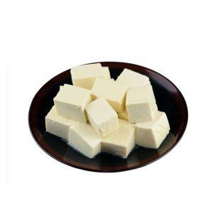 Tofu en cuadritos