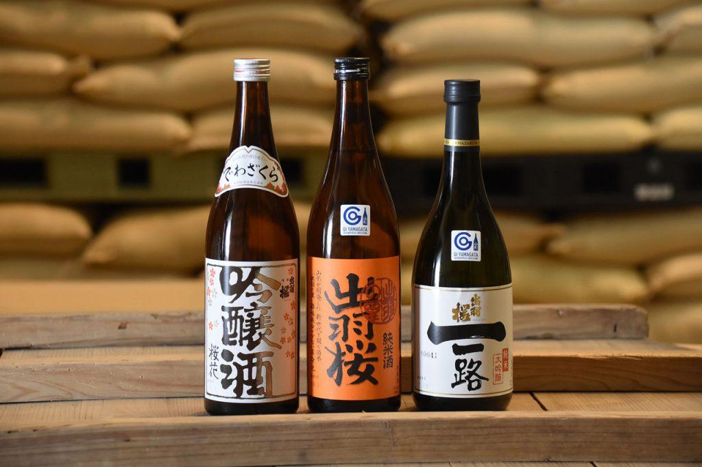 Sake por región